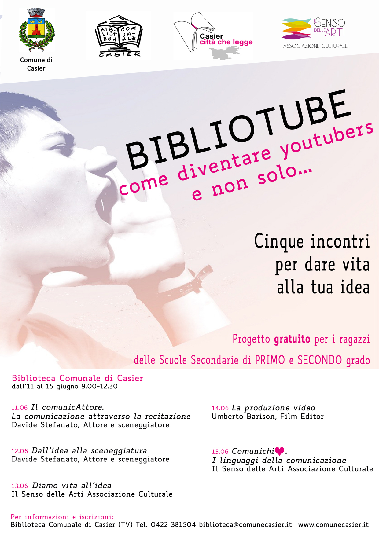 BIBLIOTUBE. Come diventare youtubers e non solo