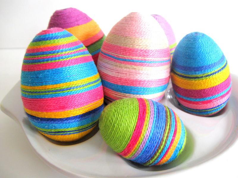 Pasqua! Un filo veste le uova