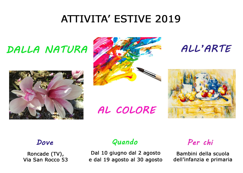Attività Estate 2019 agosto